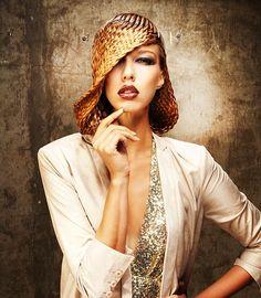 """Stylist Anne Veck """"Hair Hat"""""""