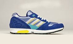 adidas Originals zx 5000: Purple/Silver