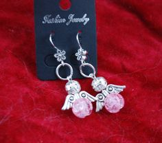 Angel earrings by leonorafi on Etsy