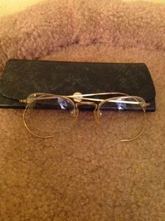 e2e7b89bae3a Vintage 1 10 12k Gold Filled Wire Half Rimmed Eyeglasses  fashion  clothing   shoes  accessories  vintage  vintageaccessories (ebay link)