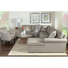 Brentwood Sectional by Rowe Furniture Sale Luxury Furniture Brands, Furniture Sale, Cheap Furniture, Furniture Design, Small Bedroom Furniture, Living Room Interior, Living Rooms, Living Room Styles, Living Room Designs