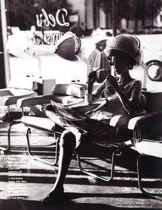 """Summer In Style"", Mirabella US, July 1992 Photographer : Pamela Hanson Model : Christy Turlington"