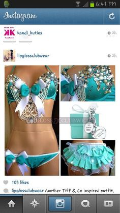 Teal - so cute but a little too much for me :)