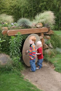 hobbit hole. This is so cute! I'm definitely making my kids one of these some day.