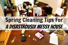 A clean house DOES help your anxiety and depression. I promise. When it's dirty, you just become more overwhelmed and anxious/depressed. So let's resolve that factor? (Ready Juliette? Here we go.) Good tips. Start with laundry. Then COMPLETELY clean the smallest room in the house. Then the messiest room. Once you've tackled the messiest - how hard can those others be?