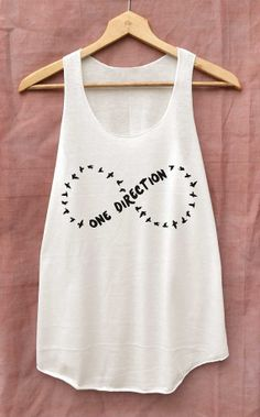 1D One Direction Shirt 1D Infinity Shirts Tank Top by topsfreeday, $14.99