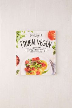 Shop Frugal Vegan: Affordable, Easy & Delicious Vegan Cooking By Katie Koteen & Kate Kasbee at Urban Outfitters today. We carry all the latest styles, colors and brands for you to choose from right here. Healthy Cooking, Cooking Tips, Cooking Games, Healthy Foods, Beginner Cooking, Cooking Courses, Healthy Sides, Vegan Snacks, Vegan Recipes