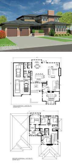 3512 sq. ft, 4 bedrooms, 4 bath.