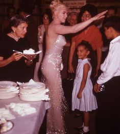 Marilyn's 34th Birthday on set of Let's Make Love~1960