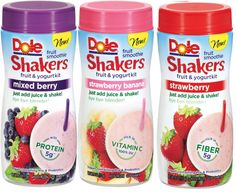 Target: Dole Fruit Smoothie Shakers only $.33 each!  YUM!