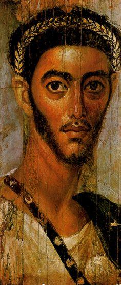Fayoum mummy portrait