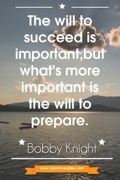 Bobby knight #key to #success