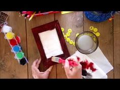 DIY Tablou din cutie de carton ♻️ Photo frame from cardboard box🖼️ tutorial Foto Frame, Relaxation Exercises, Packing Boxes, Hello Everyone, Wrapping, Wraps, Make It Yourself, Youtube, Diy