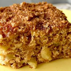 Pineapple Coffee Cake.