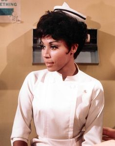 "Diahann Carroll played a single mom who was a nurse in TV show ""Julia"" which was on 1968 thru 1971. She was the first African American actress to star in her own TV show.........."