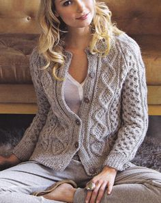 1344c46f51d3 Essentially feminine knits. Knit Cardigan PatternSweater Knitting  PatternsFree ...