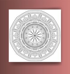 Mandala Coloring pages for adults Adult coloring book от SmoXBox