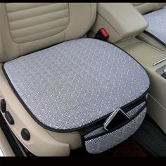 New Polyandrum Ice Blended Fabrics Auto Seat Cover Universal Front Seat Cover Cushion Pad Mat for Car Supplies Office Chair Cute Car Accessories, Car Interior Accessories, Grand Vitara, Combi T2, Car Supplies, Car Upholstery, Car Gadgets, Car Hacks, Car Storage