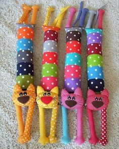 Sewing Toys, Baby Sewing, Sewing Crafts, Sewing Projects, Sewing Stuffed Animals, Stuffed Toys Patterns, Sock Crafts, Felt Crafts, Sock Toys