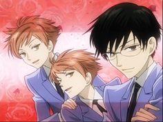 Kaoru & Hikaru & Kyoya