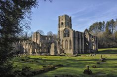 Fountains Abbey was a great stop on our way to Scotland. The grounds were unbelievable and the views were breathtaking!