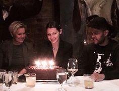 The Weeknd x Bella Hadid on her birthday || 10.9.15