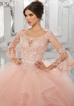 Quinceanera Dress 89153 Vizcaya Collection
