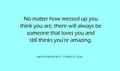 Thanks for being that person