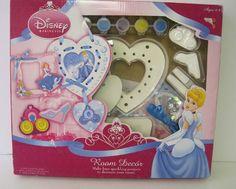 Colorbok Disney Princess Girl's Art Craft Kit Room Decor Paint Kit NIP | eBay