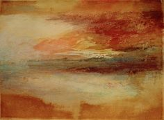 Afbeelding William Turner - W.Turner, Sonnenuntergang bei Margate