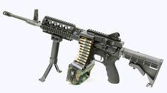 The new ARES-15™ Belt Fed Upper Assault Machine Gun
