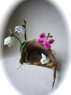 Image result for butterflies spring felted