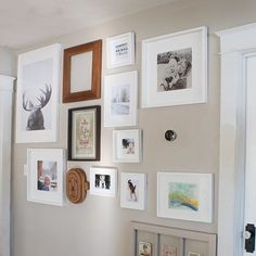 Guess the Groundhog doesn't want me to change this gallery wall to a spring theme anytime soon. . . . . . . #winter #winterphotography #gallerywall #livingroominspo #home #interiors #loveyourhabitat #mydecorvibe #currentdesignsituation