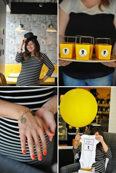 Modern London Inspired Baby Shower Tea Party