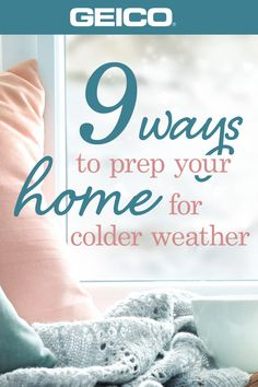It's getting chilly outside, and when the seasons change, it's always a good… – Home Maintenance Household Cleaning Tips, House Cleaning Tips, Cleaning Hacks, Home Maintenance Checklist, Weather And Climate, Home Fix, Home Protection, Diy Home Repair, Home Repairs