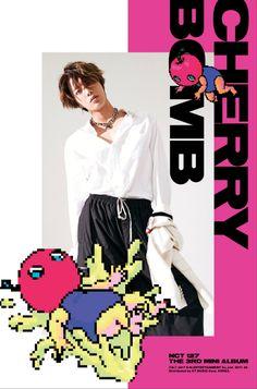 NCT Yuta, Jaehyun, and Haechan are next up in teaser images for 'Cherry Bomb' Nct Yuta, Nct 127, Kim Bum, Jaehyun Nct, Winwin, Album Nct, Taeyong, Osaka, Shinee