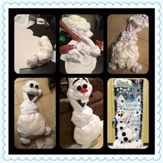Olaf from 'Frozen' decoration for classroom and other events.
