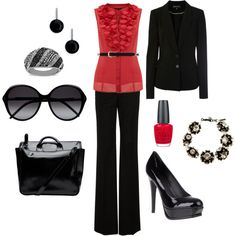 """""""Ready to Rock an Interview!"""" by kendragray2015 on Polyvore"""