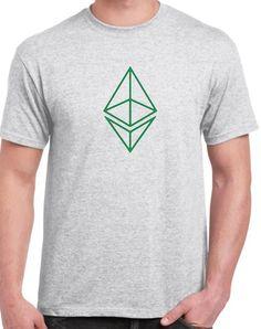 'Ethereum Classic Logo' Crypto-Currency Tee - Unisex