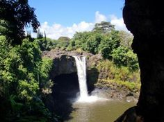 Rainbow Falls - Kona, Hawaii. If I ever get rich I will live here and bring all of my family with me.