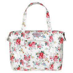 Spray Flowers Large Zipped Shoulder Bag | Spray Flowers | CathKidston