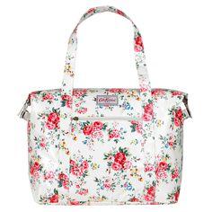 Spray Flowers Large Zipped Shoulder Bag | Spray Flowers | CathKidston