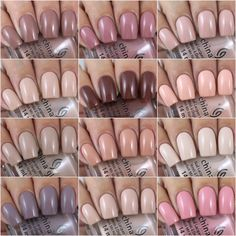 China Glaze Shades Of Nude Collection Shellac Pedicure, Shellac Nails, Nail Manicure, Pedicure Tools, Olivia Jade, Gorgeous Nails, Pretty Nails, Neutral Nails, Neutral Colors