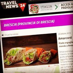 Anche Travel News 24, il portale Nazionale di viaggi e gastronomia, parla di noi... #amarcordbs #piada #piadina #piadineria #travelnews24 #travel #brescia #brescia_food #foodporn #instafood #foodie #instagood #foodpics #instabrescia