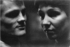 Ed Van Der Elsken - Chet Baker and girlfriend, Concertgebouw, Amsterdam 1955