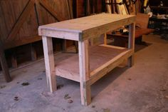 Quick & Easy Workbench | Do It Yourself Home Projects from Ana White