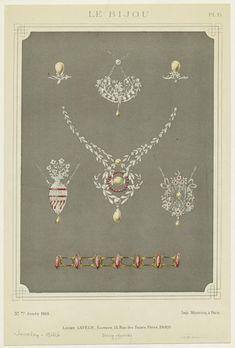 Pendants, rings, etc., 1910. New York Public Library.