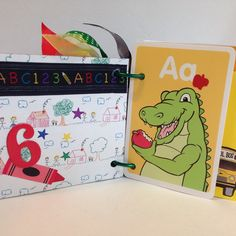 "We've just completed a Custom Order for 3 - 4"" X 4"" preschool books."