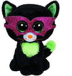 TY Beanie Boos Jinxy Halloween Cat Plush - Ria's Hallmark & Jewelry Boutique - Rare and Discontinued! Halloween Beanie Boos, Halloween Cat, Big Eyed Stuffed Animals, Ty Boos, Ty Beanie Boos Collection, Ty Peluche, Rare Beanie Babies, Rare Beanie Boos, Ty Babies