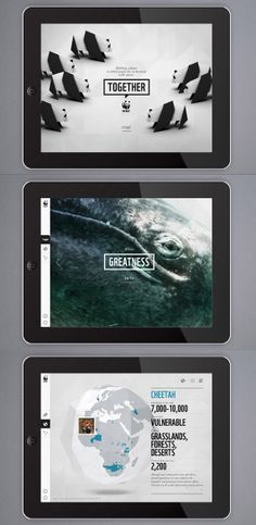 World Wildlife Foundation Educational iPad App